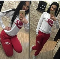 NIKE Womens Sportswear Two Pieces Top and Pants