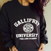 Gallifrey University Time Lord Academy Doctor Who Unisex Sweater/Sweatshirt
