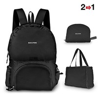 Lightweight Durable Backpack Foldable Tote Bag Camping Outdoor Hiking Daypack