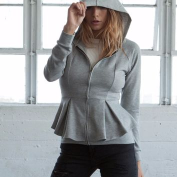 Not Your Typical Peplum Jacket