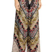 Athena printed georgette wide-leg pants | Alice + Olivia | SG | THE OUTNET