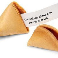Evil Misfortune Cookies ? Lost At E Minor: For creative people