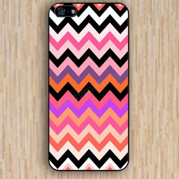 iPhone 5s case red pink black chevron colorful iphone case,ipod case,samsung galaxy case available plastic rubber case waterproof B035