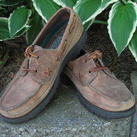 vintage 90s Ralph Lauren Polo Country lace up loafer. womens size 7.5
