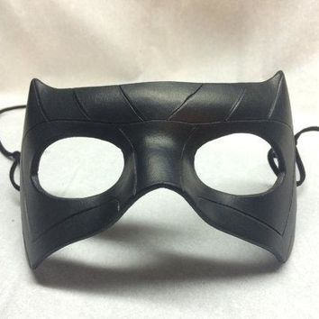 TV Series Green Arrow Black Canary Dinah Laurel Lance Mask Women Cosplay Leather for Party Halloween