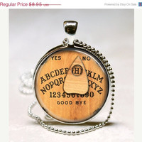 ON SALE Personalized Jewelry Ouija Board by MissingPiecesStudio