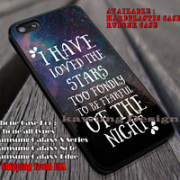 I Have Loved The Stars   Quotes   I Have Loved   The Stars   Tinkerbell   case/cover for iPhone 4/4s/5/5c/6/6+/6s/6s+ Samsung Galaxy S4/S5/S6/Edge/Edge+ NOTE 3/4/5 #cartoon #disney #animated #tinkerbell #comic ii