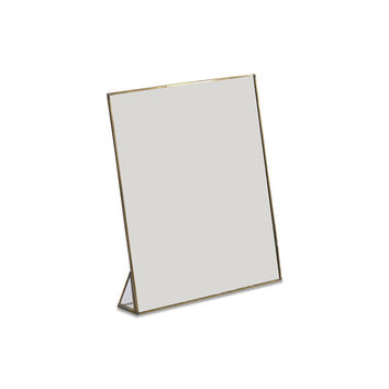 Buy Nkuku Kiko Standing Mirror - Antique Brass - Large | Amara