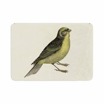 "NL Designs ""Vintage Bird 2"" Animals  Memory Foam Bath Mat"