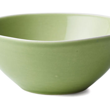 Hand-Painted Nut Bowls, Green, Set of 3, Serving Bowls