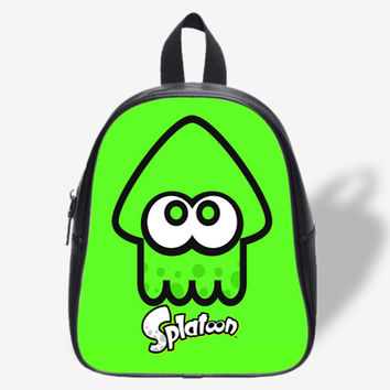 Splatoon Green Squid Design for School Bag, School Bag Kids, Backpack
