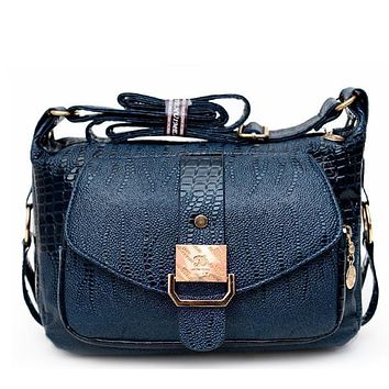 Women's Handbag Cross-Body Handbag Summer The Elderly Messenger Bag PU