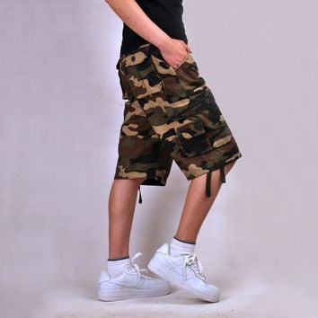 New Camouflage Shorts Men cargo Shorts Bermuda Masculina de marca Men Casual Mens Cargo Shorts men Camo Cargo Shorts Military