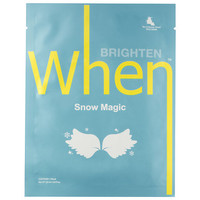 When Snow Magic Sheet Mask (0.8 oz)