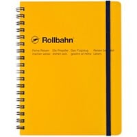 "Rollbahn Notebook YellowSmall 4.25 x 5.5"" Or Large 5.5 x 7"""