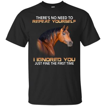 Ignore you UB™ - Horse Shirt Sweatshirt Hoodie