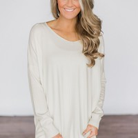 Hold On To Me Sweater - Ivory