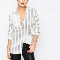 New Look Stripe Shirt at asos.com