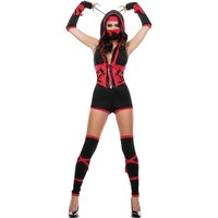 Adult Red Dragon Ninja Costume