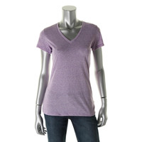 RRR Womens Jersey Heathered Pullover Top