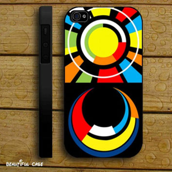 Valentino Rossi The Doctor 46 Sun and Moon Monza iPhone Case And Samsung Galaxy Case