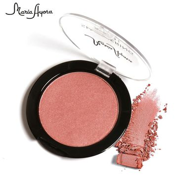 Beauty Face Blush Makeup Blusher Palette Highlight Cosmetic Shadow 6 color
