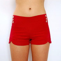Dip it Low Shorts in Red