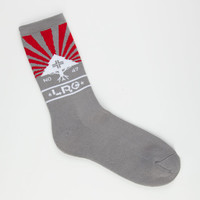 Lrg Sunshower Mens Crew Socks Ash One Size For Men 22792613901