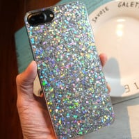 Upgraded Version Twinkle Silicone Case for iPhone 7 SE 5S 6 6S Plus + Gift Box