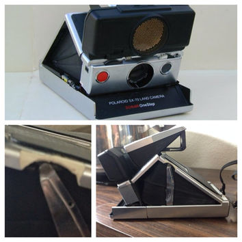 Vintage Polaroid Sonar SX-70 Camera Instamatic Camera Vintage Photography (c.1970s) Instant Film Camera Retro