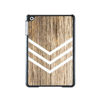 Geometric Stripes Wood Style iPad Mini 2 and iPad Mini Case