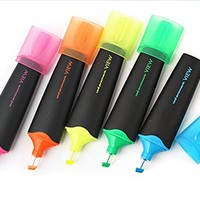 Amazon.com: Uniball Water based Highlighters Fluorescent Key Marker