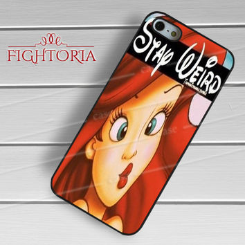 Weird Ariel Mermaid - zFzF for  iPhone 6S case, iPhone 5s case, iPhone 6 case, iPhone 4S, Samsung S6 Edge