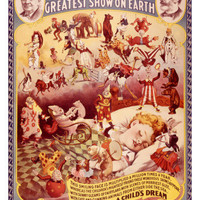 Barnum and Bailey, Circus Dream Giclee Print at AllPosters.com