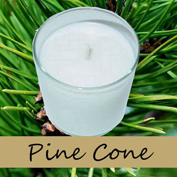 Pine Cone Scented Candle in Tumbler 13 oz