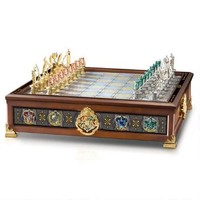 Harry Potter Hogwarts House Quidditch Chess Set by Noble Collection | WBshop.com