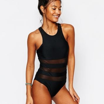 South Beach Issy Swimsuit at asos.com