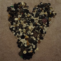 Huge lot of over 1300 Vintage Sewing Buttons