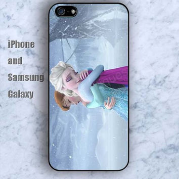 Frozen best friend iPhone 5/5S Ipod touch Silicone Rubber Case Phone cover Waterproof