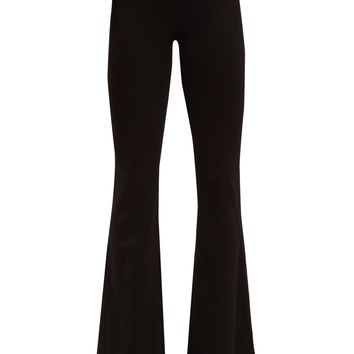 Flared-leg jersey trousers | Galvan | MATCHESFASHION.COM UK