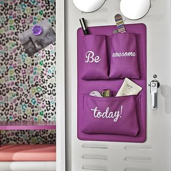 Gear-Up Locker Essentials Pocket, Be Awesome Today