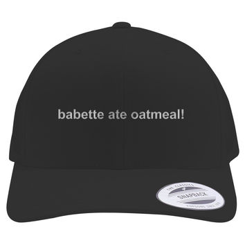 Gilmore Girls - Babette Ate Oatmeal Embroidered Retro Embroidered Trucker Hat