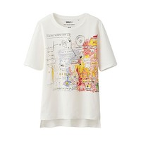 WOMEN SPRZ NY S/S Graphic T-Shirt(Jean Michel Basquiat)