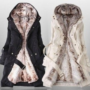 hot sale korea design Women's slim fur coats winter warm long down &amp parkas lady fashion jacket