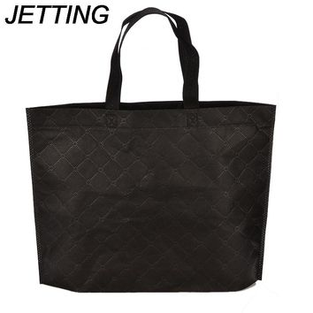 JETTING Shopping Bag Reusable Cloth Fabric Grocery Packing Recyclable Hight Simple Design Healthy Tote Handbag Trendy