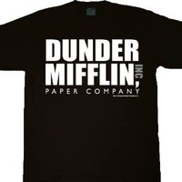 The Office Dunder Mifflin INC Paper Company Logo T-shirt Tee