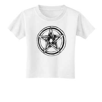 Pentacle Magick Witchcraft Star Toddler T-Shirt