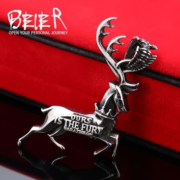 Game Of Thrones Stannis Baratheon Ours Is The Fury Buck Necklace Pendant