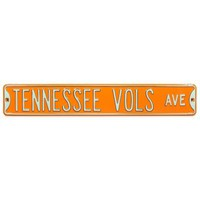University of Tennessee Steel Street Sign