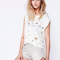Free People Womens Dolphin Hem Denim